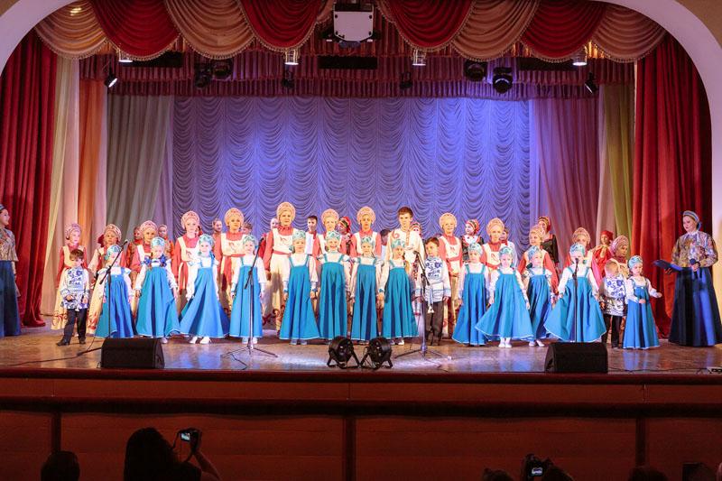 Отчетный концерт ансамбля Метелица