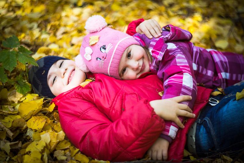 Фотосъемка в осеннем парке