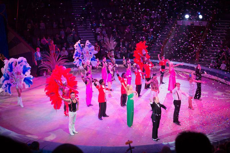 В Омском цирке «Фиеста»